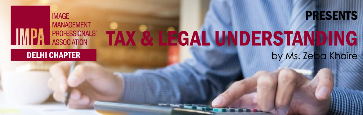 Book Online Tickets for Tax and Legal understanding, New Delhi. Zeba Khaire is a Senior lawyer with over 20 years of experience. She has recently been a part of training for over 200 women employees of a BPO in Manesar on Sexual harassment awareness and associated legal topics. She has extensive corporate ex