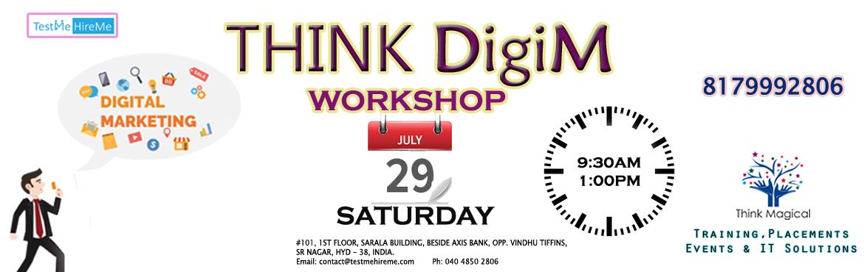 THINK DigiM - A Workshop on Digital Marketing