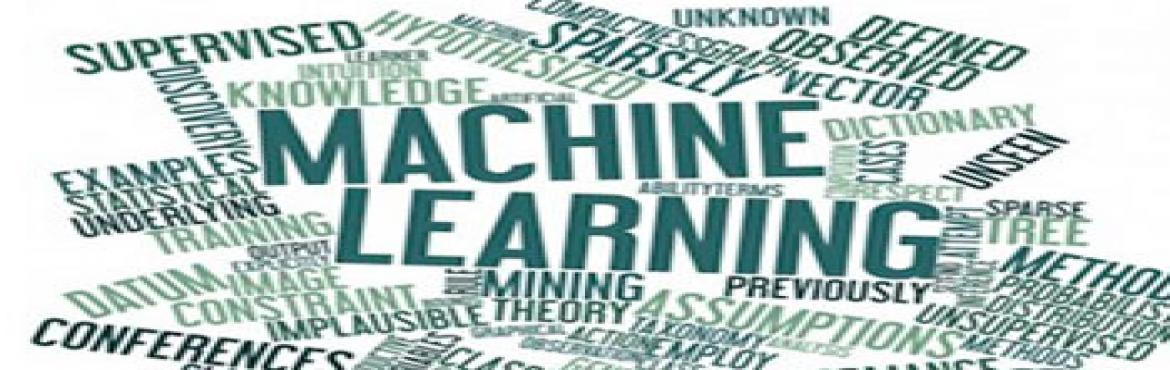 Book Online Tickets for Machine Learning - A Tour (Complete Work, Hyderabad.        Managing and Understanding Data   Lazy Learning   Probabilistic Learning   Divide and Conquer   Forecasting   Black Box Methods   Finding Patterns   Clustering   Specialized ML    Organized By: Black Feathers (Visit Website for