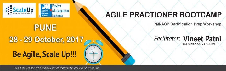 PMI-ACP Certification Prep Workshop Pune October 2017