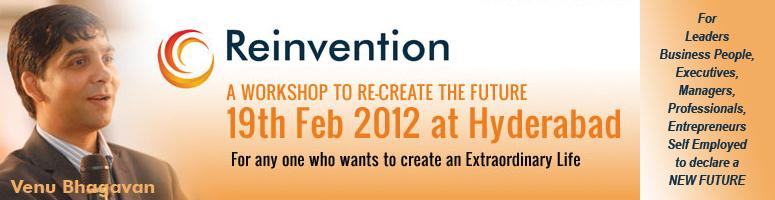 REINVENTION - AN EVENT TO CREATE A BRAND NEW FUTURE