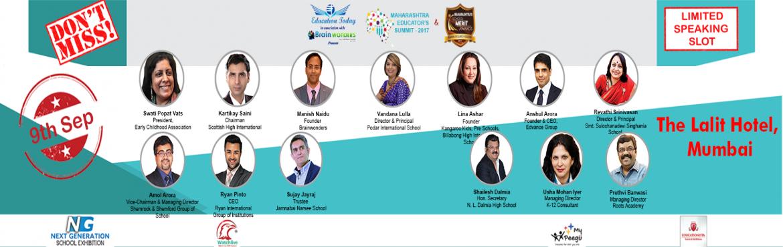 Maharashtra Educators Summit 2017 and Maharashtra School Merit Awards 2017-18