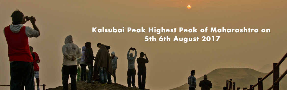 Kalsubai Peak Highest Peak of Maharashtra on 5th 6th August 2017