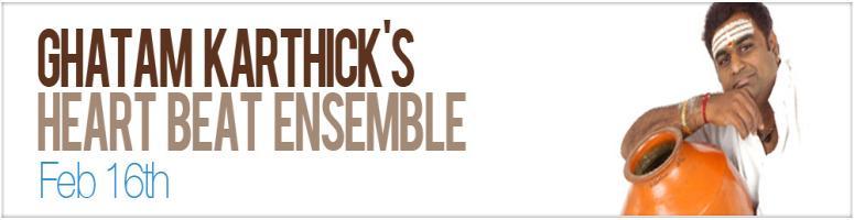 GHATAM KARTHICK\'s Heart Beat Ensemble@ BITS Hyd
