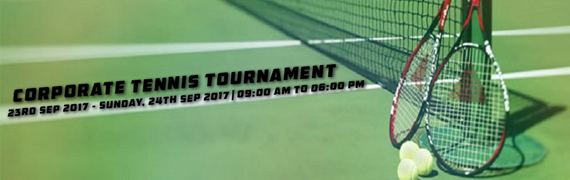 Book Online Tickets for Corporate Tennis Tournament, Pune. ● Knockout for Teams Event ,Singles & Doubles. ● Prizes : Trophy & Medals for 1st & 2nd Position .Medals for 3rd & 4th Position. ● Snacks for all players. ● Venue :CPR Tennis Club (Pashan) ● Sport Specific Schedule to