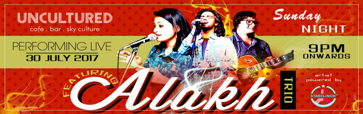 Book Online Tickets for Alakh Live at The Uncultured - Powered b, New Delhi. Alakh is a collaboration formed by experienced artists coming together to explore horizons other than their solo ventures. Sonal and Devesh, a versatile pop duo is the ingenious frontmen of Alakh accompani