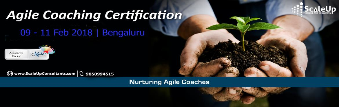 Book Online Tickets for Agile Coach Certification, Bangalore - F, Bengaluru. The Agile Coaching Workshop is a 3-days face-to-face training program with the primary objective to make learners efficient in coaching agile teams. It helps the participants understand and develop the essential professional coaching skills, apprecia