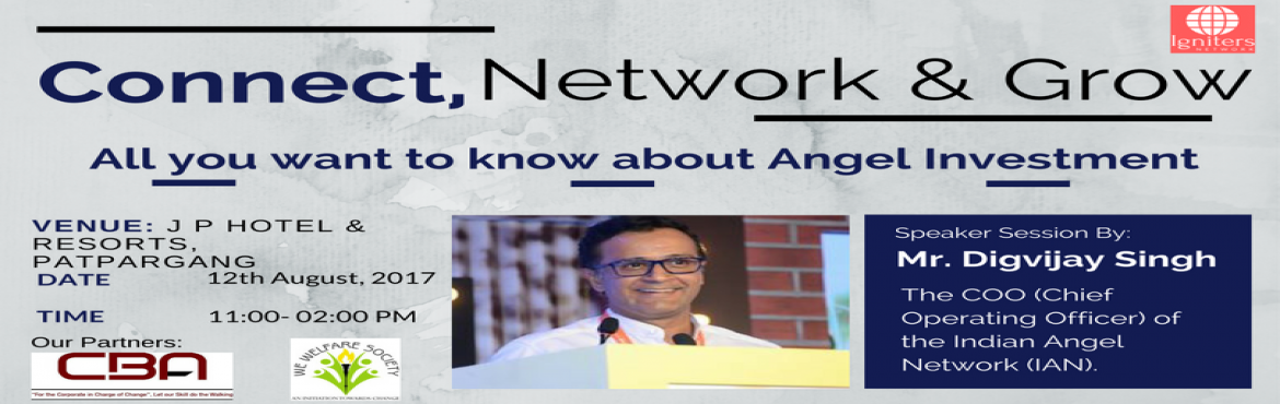 Book Online Tickets for Business Event for Entrepreneurs - Angel, NewDelhi.   Business Event   An event for Business Networking, where you can build a great network for your business. It's an opportunity to meet some like minded people and build a strong business network. You will have a chance to introduce your b