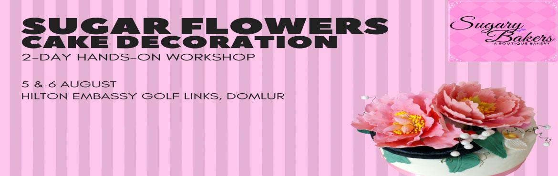 Sugar Flowers Workshop @ Hilton Bangalore
