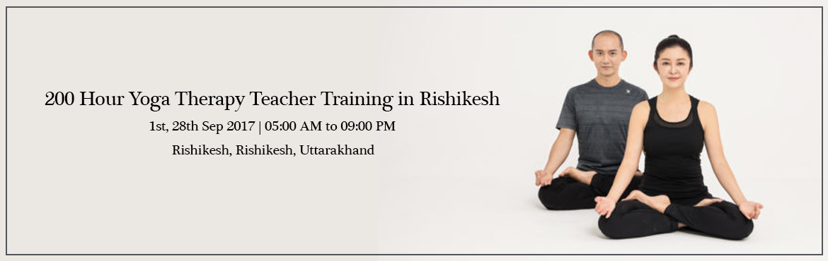 200 Hour Yoga Therapy Teacher Training in Rishikesh India