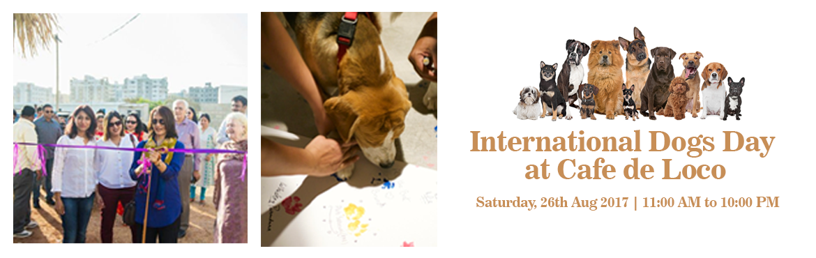 Book Online Tickets for International dogs day at Cafe de Loco, Hyderabad.  It a fun filled event with dogs fashion show with the pet parents, surprise gifts, games, barbeque, movie and much more. There is something for everyone to enjoy and have fun and make cool friends. We have brought Goan Shacks in the heart of Ga