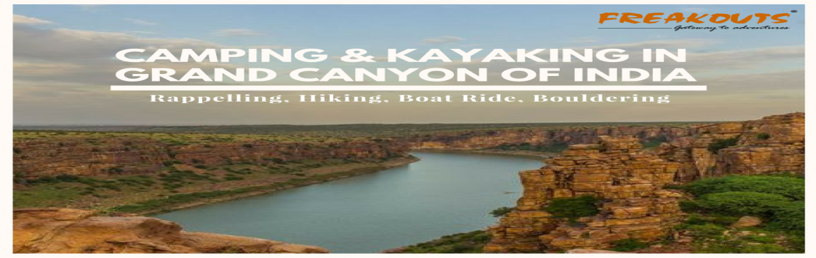 Book Online Tickets for Activities at Gandikota Fort, Gandikota.  About The Event Gandikota Fort which is best place for camping, rock climbing and kayaking. This Fort has great view and location which is go for corporate team outings from hyderabad and bangalore.  Visit this link to check program i