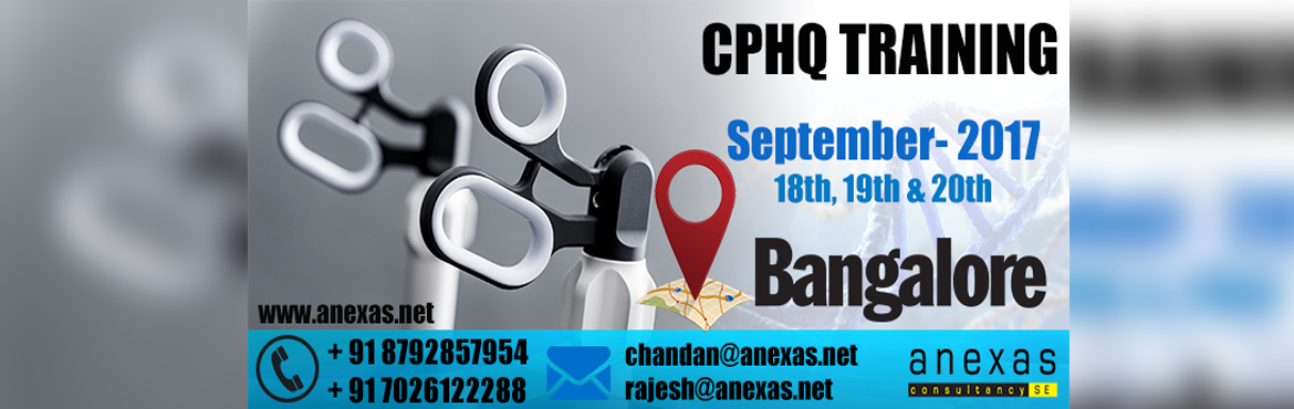 Book Online Tickets for CPHQ Training for Healthcare Professiona, Bengaluru.  All the Hospital Directors, Quality officers, Quality managers, Health care Mangers, Doctors, Nurses Pharmacists, Lab Technicians, Bio Medical Engineers, & SafetyOfficers can under go this Training. Purpose of CPHQ certification in the heal