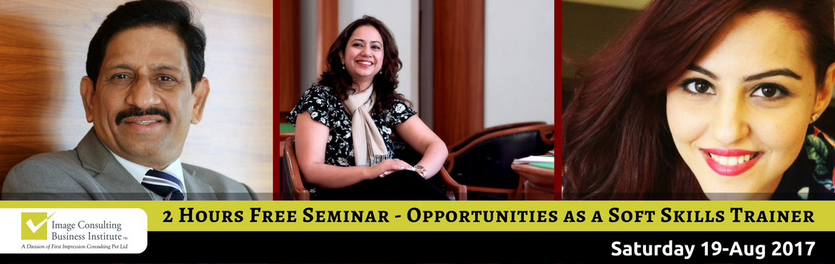Seminar on Opportunities as a certified Soft Skills Trainer (19-August, Chennai)