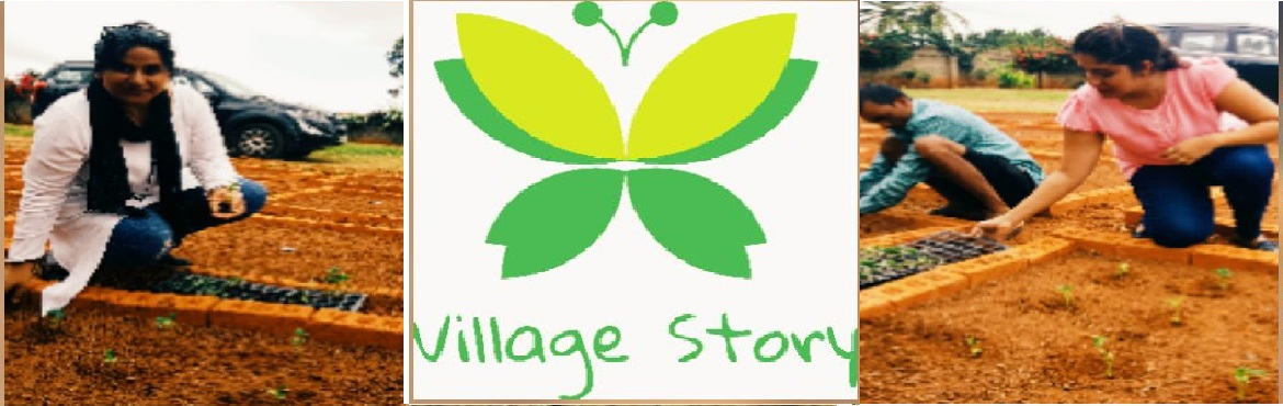 Book Online Tickets for Village Story - Experience To Sow And Gr, Bengaluru. Village story in Association with My Dream Garden promises to bring out the little farmer in you !!   The urban lifestyles of today have limited people\'s access to fresh air, open spaces and mother nature, constricting the imagin
