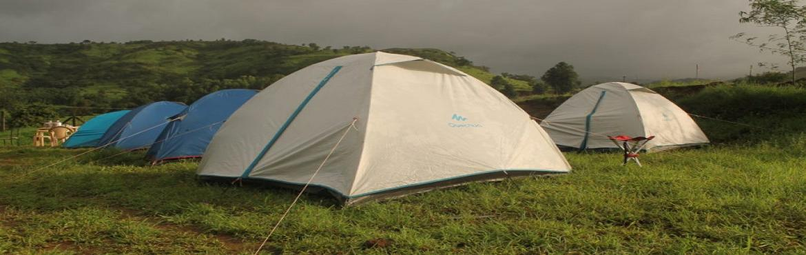 Trek to Rajgad and camping Riverside
