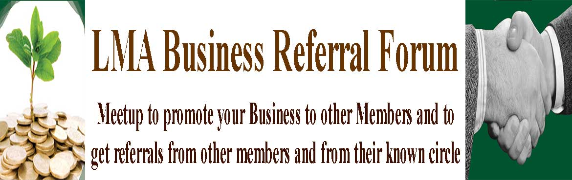 Invitation to promote your Business to other Members and get referrals