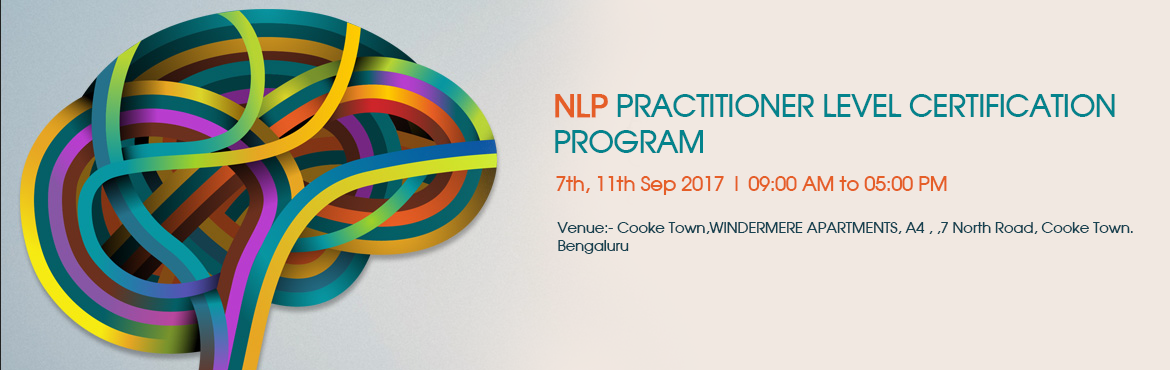 NLP PRACTITIONER LEVEL CERTIFICATION PROGRAM