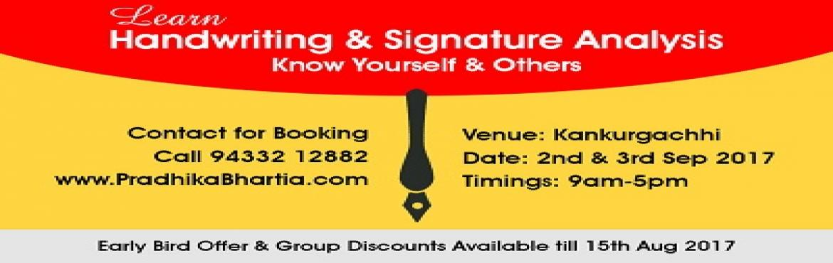 2- Days Handwriting and Signature Analysis Course