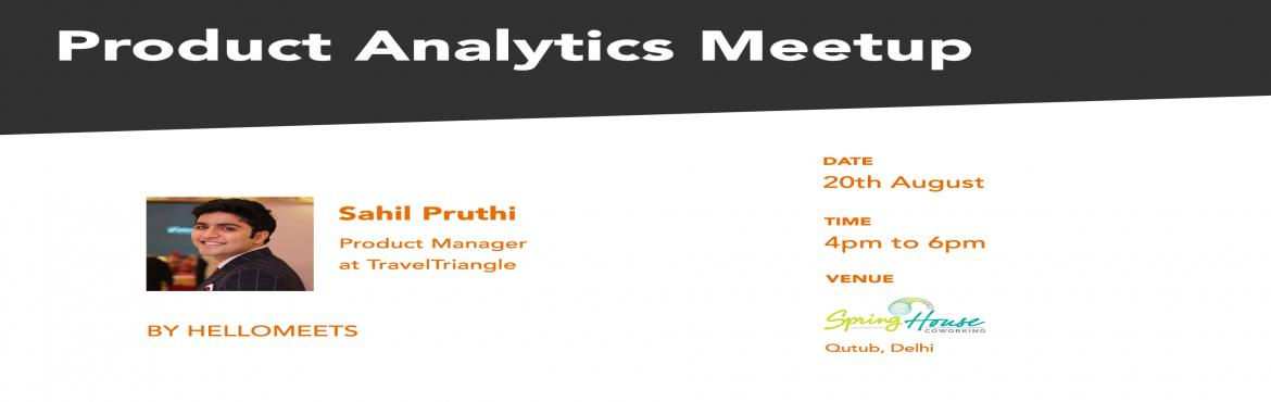 Product Analytics Meetup