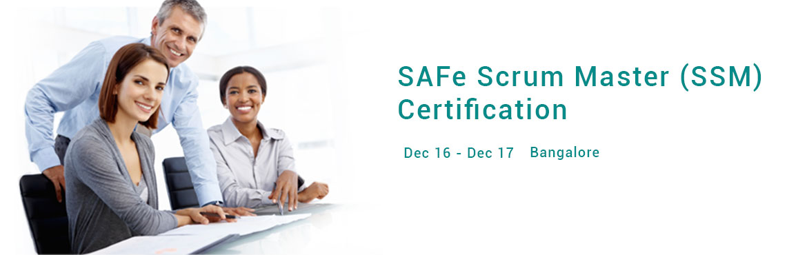 Book Online Tickets for SAFe Scrum Master (SSM) Certification - , Bengaluru.  In this two-day course, you'll gain an understanding of the role of Scrum Master in a SAFe enterprise. Unlike traditional Scrum Master training that focuses on the fundamentals of team-level Scrum, the SAFe 4.5 Scrum Master course explore