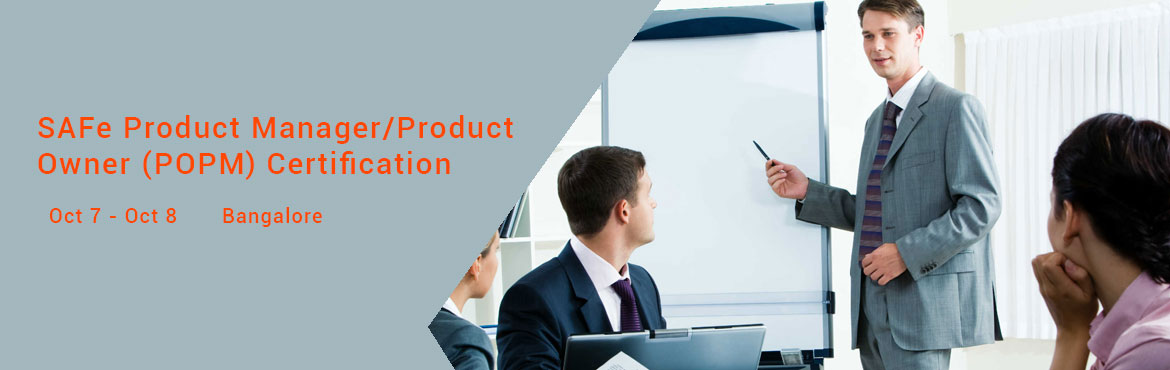 SAFe Product Manager/Product Owner (POPM) Certification - 07 -08 - OCT