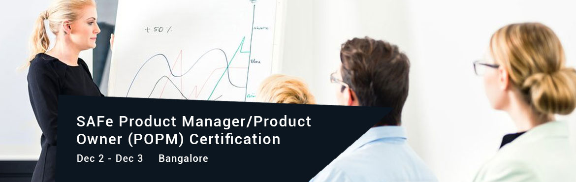 Book Online Tickets for SAFe Product Manager/Product Owner (POPM, Bengaluru. Delivering customer value through effective execution and coordination of program increments in the enterprise In this two-day course, you will learn how the roles of Product Manager, Product Owner, Solution Manager, and Epic Owner drive the delivery
