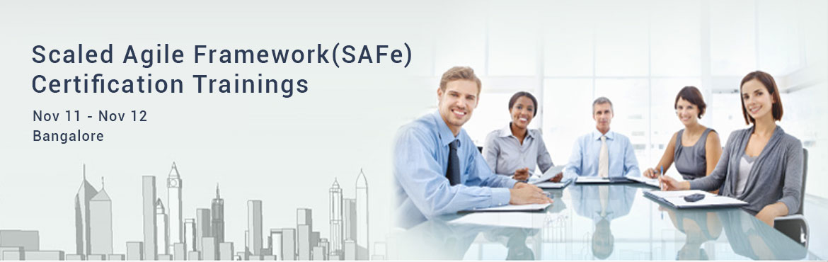 Book Online Tickets for Scaled Agile Framework(SAFe) Certificati, Bengaluru.  Scaling Agile or Scrum for multiple teams has got many challenges and there is no defined framework to scale agile for enterprises involving multiple teams. Core scrum also do not provide any defined guidelines. In this two-day course, you will