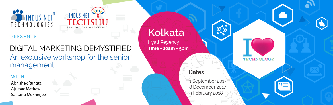 Book Online Tickets for DMD Training on Digital Marketing Framew, Kolkata. POWERFUL Digital Marketing Structures / Frameworks After London, Jakarta, Jaipur, Chennai and Delhi, we are in Kolkata. This is the first time when Kolkata will witness Digital Marketing Frameworks. There is much clutter in Digital Marketing but to s