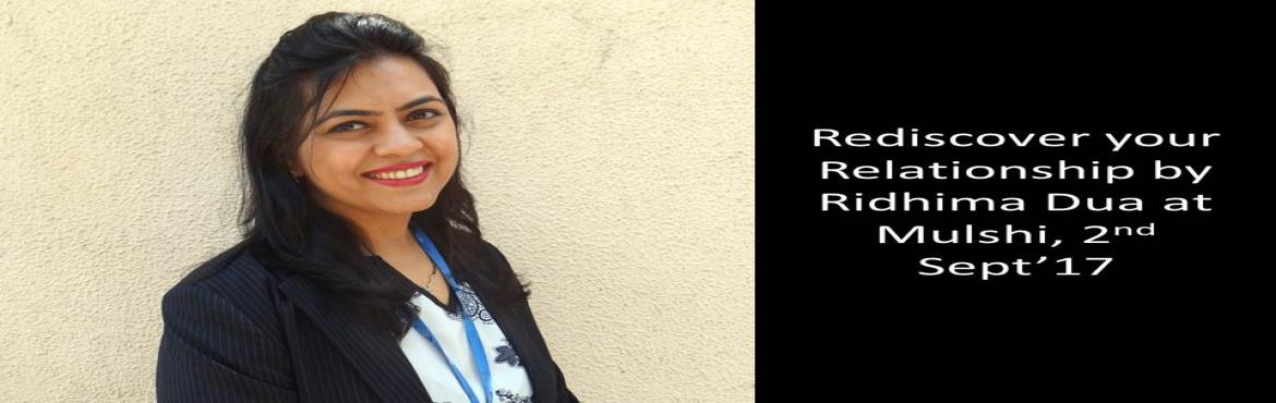 Rediscover your relationship with NLP by Ridhima Dua at Mulshi