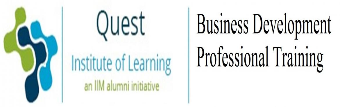 Book Online Tickets for Business Development Professional Traini, Hyderabad. Learn Business Development from the experts ( 2 days training)  Business development courses are an important part of preparing the next generation of global general managers. As the global business environment becomes i