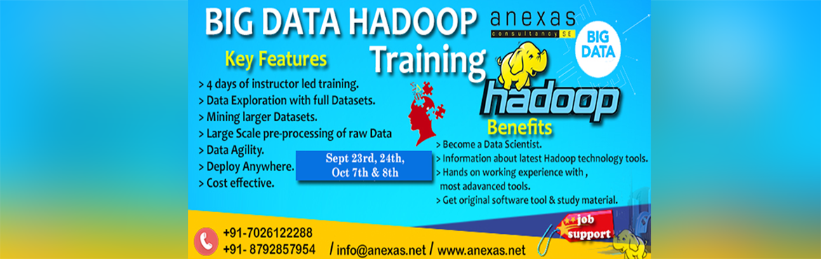 Big Data Hadoop Training and Certification in Bangalore (Weekend Batch)