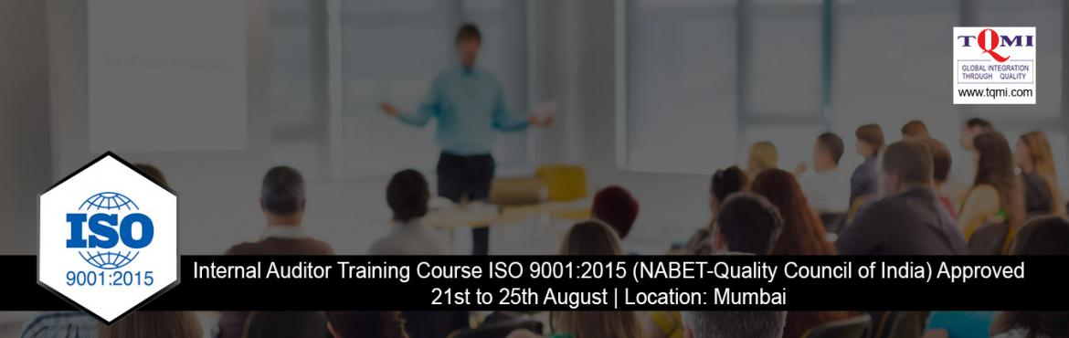 Book Online Tickets for Lead Auditor Training Course ISO 9001:20, New Delhi.   Date/TimeDate(s) - 21/08/2017 - 25/08/2017 All Day - 10:00 AM to 06:00 PM   Categories: Lead Auditor Training   Location: Mumbai   Contact : Sonia Garg   E-mail: sonia@tqmi.com   Event Link:   http://www.tqmi.com/