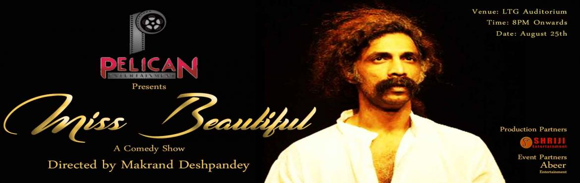 Book Online Tickets for Miss Beautiful play by Pelican Entertain, New Delhi. Play Synopsis: A play about the confrontation with the ultimate end. The parents would be happy if their son gets married and the son would be happy if his parents don't give the reason of their aging for him to get married. The play is at time