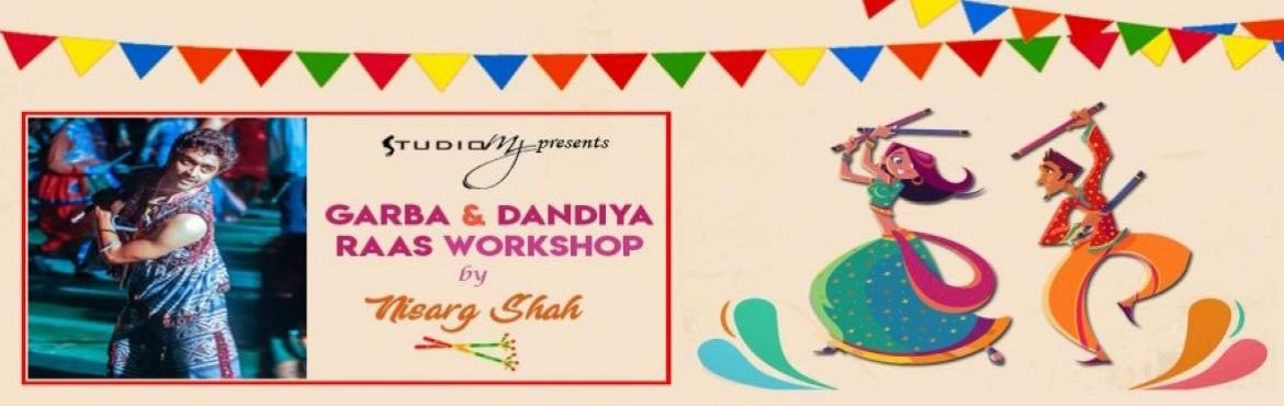 Book Online Tickets for Garba and Dandiya Raas Workshop by Nisar, Hyderabad.  Garba - Dandia - This folk style is considered to be one of the biggest Indian Social Dancing. As we all know that Navaratri is soon approaching, So why be spectators this season? Let us learn this beautiful dance form and celebrate the joy of