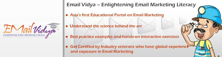 Book Online Tickets for Email Vidya - Asia\'s first education se, Mumbai. Asia\\'s first education series,workshops and certification in Email Marketing - New Delhi - 18th May 2012