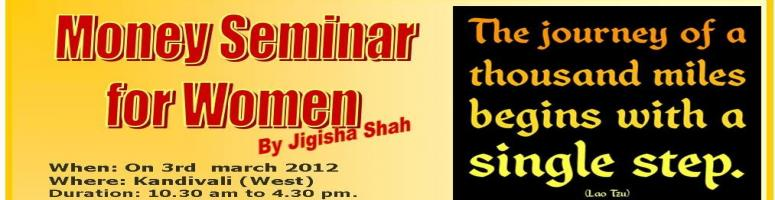 Money Seminar for Women