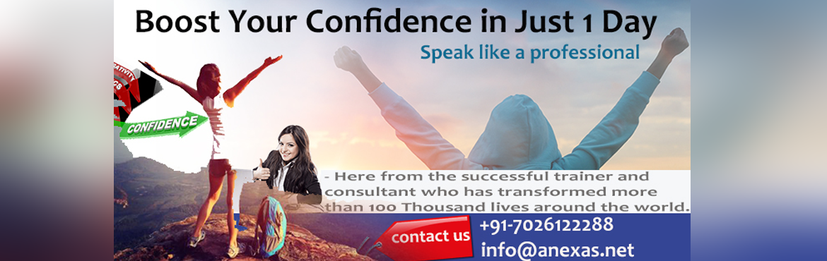 Boost Your Confidence in just 1 Day