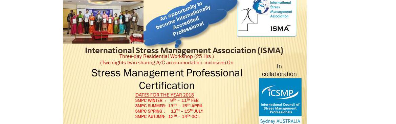 Stress Management  Professional Certification