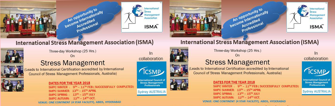 Stress Management  Professional Certification