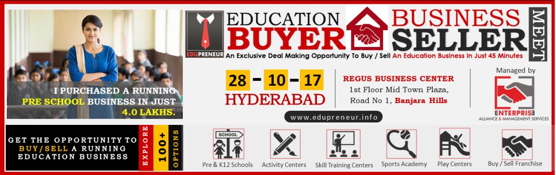 Education Business Buyer - Seller Meet - Hyderabad