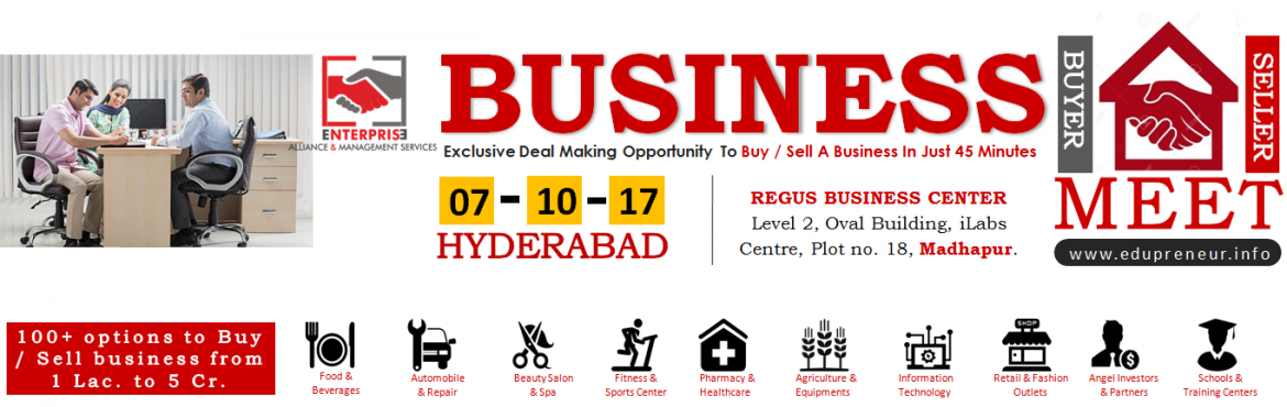 Business Buyer - Seller Meet - Hyderabad
