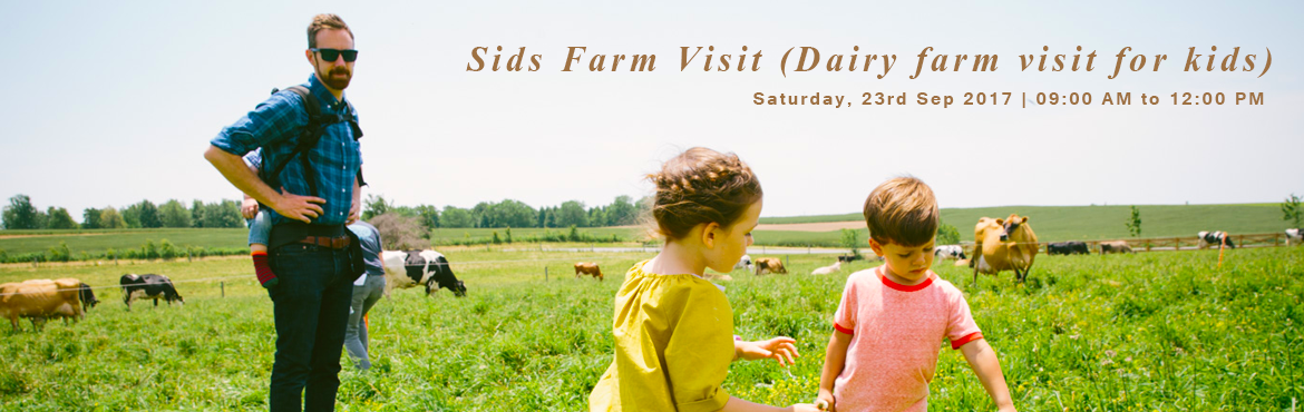 Sids Farm Visit (Dairy farm visit for kids)