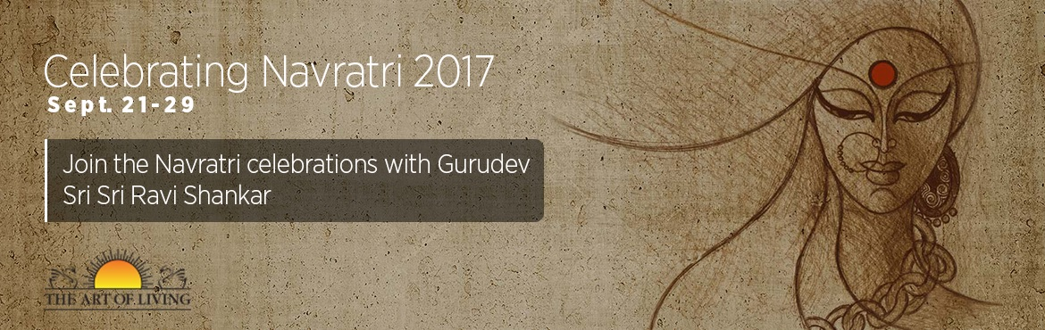 Navratri Celebrations 2017  with Gurudev Sri Sri Ravi Shankar at Bangalore Ashram