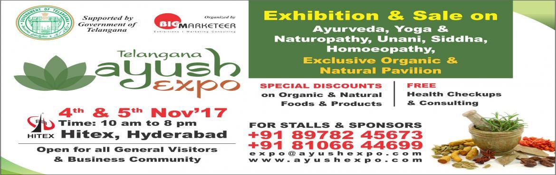 AyushExpo- Ayurveda,Yoga ,Naturopathy, Unani, Siddha,Homeopathy,Organic,Natural