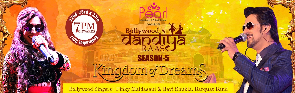 Bollywood dandiya raas season 5 Sep 24th