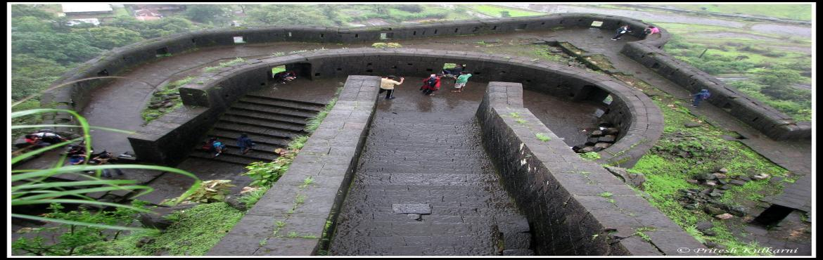 "Book Online Tickets for Trek to Lohagad Fort on 16th September 2, Pune.   About Lohagad:-Lohagad ""Iron fort"" is one of the many hill forts. It divides the basins of the Indrayani and Pavna and is situated on a wide range of the Sahyadri.  The Visapur fort is located on its eastern side. The four lar"