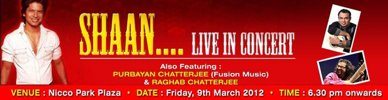 Shaan Live in Concert - Kolkata