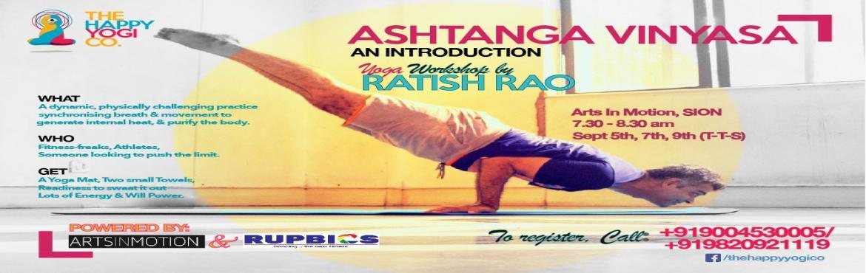 Ashtanga Vinyasa Yoga Workshop