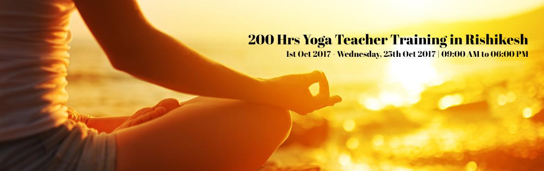 200 Hrs Yoga Teacher Training in Rishikesh